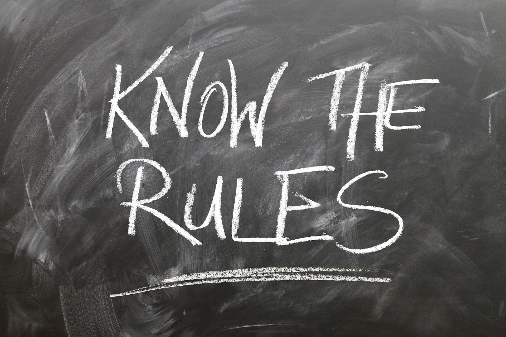 Regeln für Content
